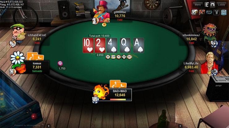 Bettson pokerrum