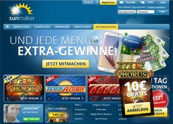 Sunmaker webbsida