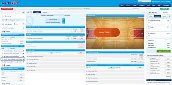 Sportingbet webbsida