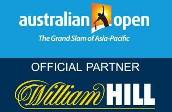 Asutalian Open och William Hill logotyper