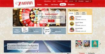 Maria webbsida