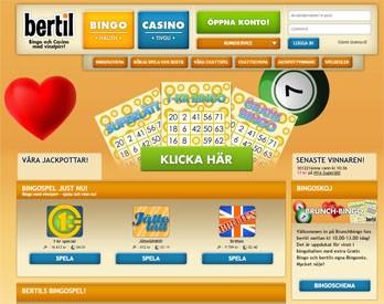Bertil webbsida