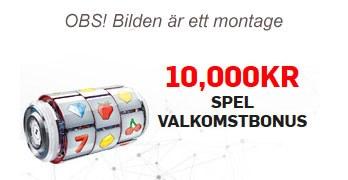 Casinobonus annonsbild