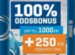 Startbonus på NordicBet